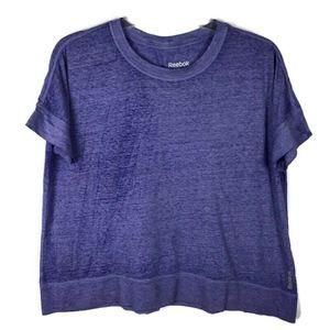 Reebok Work Out Burn out T-shirt Size XL